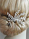 Alloy Headdress with Crystals / Rhinestones 1 Piece Wedding / Special Occasion Headpiece