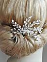 Aliaj Ornamente de Cap cu Cristale / Strasuri 1 Bucată Nuntă / Ocazie specială Diadema