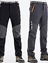 Men\'s Hiking Pants Outdoor Windproof Fast Dry Anatomic Design Winter Pants / Trousers Hunting Fishing Hiking Black Dark Grey XXL XXXL 4XL / Stretchy