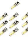 10pcs T10 Mașină Becuri 2 W COB 150 lm 2 LED Bec Semnalizare Pentru