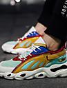 رجالي أحذية الجري أحذية رياضية مطاط المشي ركض الركض خفة الوزن متنفس توسيد شبكة أصفر رمادي الأزرق والأسود / خفيف جدا (UL) / خفيف جدا (UL) / يمكن ارتداؤها