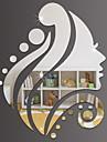 Decoratieve Muurstickers - Spiegel muurstickers Vormen Voor Binnen