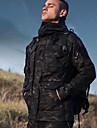 Férfi álcázás Katonai taktikai kabát Planinarska jakna Szabadtéri Tél Szélbiztos Lélegzési képesség Viselhető UV ellenálló Téli kabát Egy csúszkás Kempingezés és túrázás Vadászat Mászás Barna