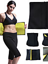 Body Shaper Sweat Waist Trimmer Sauna Belt NEOPRENE Stretchy No Zipper Hot Sweat Slimming Weight Loss Tummy Fat Burner Exercise & Fitness Gym Workout Workout For Abdomen