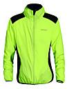 WOSAWE Unisex Bisiklet Ceketi Bisiklet Ceket Üstler Rüzgar Geçirmez Nefes Alabilir Hızlı Kuruma Spor Dalları Yeşil Dağ Bisikletçiliği Yol Bisikletçiliği Giyim Gelişmiş Rahat Fit Bisiklet Elbiseleri