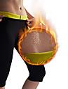Karcsúsító nadrágok Capris Leggings Neoprén Rugalmas Forró izzadtság Fogyás Zsírégető Edzőterem poci Jóga Fitnesz Edzőterem edzés mert Férfi Női Láb Has