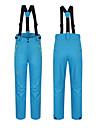 Femme Pantalons de Ski Etanche Chaud Respirabilite Ski Camping / Randonnee Snowboard Polyester Filature du coton Salopettes Tenue de Ski / Hiver