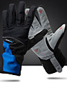 Guantes de Invierno Guantes de Ciclismo Deportes Invierno Dedos completos Impermeable Transpirable Mantiene abrigado Rojo / Blanco Negro / azul Clima frio Microfibra Tejido Polar Ciclismo / Bicicleta