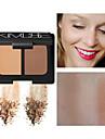 Jednobarevné Suché Zeštíhlující bronzer # Matte Snadné přenášení Večerní oslava / Formální / Rande Makeup Kosmetický