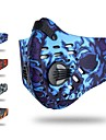 Pollution Protection Mask Headsweat Red Blue Grey Cycling Fitness, Running & Yoga Detachable Fleece Ski / Snowboard Outdoor Exercise Cycling / Bike Unisex Camo / Camouflage Nylon Spandex / Stretchy