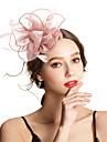 Polyester / polyamid Fascinátory s Peří / Květiny / Jednobarevné 1ks Svatební / Zvláštní příležitosti Přílba
