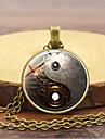 Ανδρικά Ρετρό Κρεμαστά Κολιέ Βίντατζ Κινεζικό στυλ Steampunk Απίθανο Χρυσό Μαύρο Ασημί 45+5 cm Κολιέ Κοσμήματα 1pc Για Μασκάρεμα Επαγγελματική