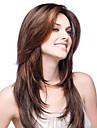 Не подвергавшиеся окрашиванию Бесклеевая сплошная кружевная основа Бесклеевая кружевная лента Полностью ленточные Парик Стрижка каскад Свободная часть стиль Бразильские волосы Прямой Парик 130% 150