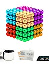 216 pcs 5mm Magnet Toy Magnetic Balls Magnet Toy Building Blocks Magnetic Stress and Anxiety Relief Office Desk Toys Relieves ADD, ADHD, Anxiety, Autism Novelty Kid\'s / Teenager / Adults\' All Boys