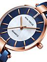 MINI FOCUS Women\'s Wrist Watch Japanese Quartz Stainless Steel Black / Blue / Gold 30 m Casual Watch Cool Analog Ladies Fashion Elegant - Black Blue Rose Gold