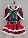 Inspirado por Amor en Vivo Disfraces de Santa / Cosplay Anime Disfraces de cosplay Trajes Cosplay Retazos / Varios Colores Vestido / Chal / Mas Accesorios Para Hombre / Mujer