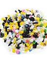 500 βίδες κοχλίες αυτοκινήτων αυτοκόλλητη συλλογή clips