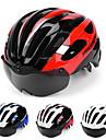 PROMEND Voksen Bike Helmet BMX hjelm 24 Ventiler Letvægt Insektnet Integralt støbt ESP+PC Sport Is Skøjtning Udendørs Træning Cykling / Cykel - Rød Blå Sort / Rød Unisex