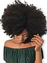 Dolago Clip In 人間の髪の拡張機能 カール 人毛 人毛エクステンション ブラジリアンヘア ナチュラル 7個 無臭 ナチュラル 100% バージン フリーサイズ ブラック
