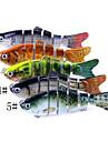 1 pcs Kunstaas Vast Aas Koolstofstaal ABS Waterbestendig Makkelijk mee te nemen Lichtgewicht Zinken Zeevissen Aas Uitzoeken Draaiend / Karper Vissen / Zeebaars Vissen / Vissen Met Aas
