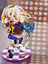 Anime Action Figures Inspired by No Game No Life Shiro PVC(PolyVinyl Chloride) 19 cm CM Model Toys Doll Toy
