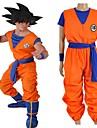Inspirado por Bola de Dragon Son Goku Anime Disfraces de cosplay Trajes Cosplay Letra N / A / Top / Pantalones Para Unisex
