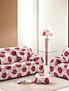 Накидка на диван Цветочный принт / Современный стиль Активный краситель Полиэстер Чехол с функцией перевода в режим сна