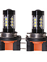 OTOLAMPARA 2 szto. H15 Samochód Żarówki 80 W SMD 335 1550 lm 16 LED Lampa przednia Na Volkswagen / Ford Tiguan / Golf / S-Max Wszystkie roczniki