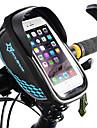 ROCKBROS Cell Phone Bag Bike Frame Bag Touch Screen Waterproof Lightweight Bike Bag TPU EVA Polyster Bicycle Bag Cycle Bag Cycling / iPhone X / iPhone XR Bike / Bicycle