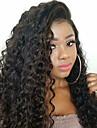 Remy kosa Full Lace Lace Front Perika Bob frizura stil Brazilska kosa Duboko kovrčava Perika 130% 150% 180% Gustoća kose Modni dizajn Nježno Sexy Lady Udobnost kovrčav Natural Žene Jako dugo Perike s