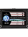 520WGNR04 7 pouce 2 Din Windows CE In-Dash DVD Player GPS / Ecran Tactile / Bluetooth Integre pour Volkswagen Soutien / RDS / Controle Au Volant / Sortie Subwoofer / Jeux / Support SD / USB
