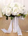 Kunstbloemen 1 Tak Klassiek Bruiloft Bruidsboeketten Eeuwige bloemen Bloemen voor op tafel