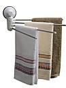 タオルバー / 浴室棚 ノンテープ・タイプ / 愛らしいです / かわいい 近代の PVC / ステンレス 1個 - 浴室 4タオルバー 壁式