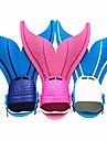 Dykkerfinner Svømmefinner Havfrue Hurtig Frigivelse Justérbar pasform Svømning Dykning Snorkling Silikone TPR - til Børn Grøn Blå Lys pink