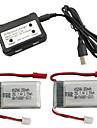 MJX X401H X402 7.4V 350mAh 1set baterija / Adapter