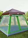 Hewolf 8 osob Rodinné kempování stan Outdoor Větruvzdorné Odolné vůči dešti Nositelný S jednou vrstvou Tyč Camping Tent >3000 mm pro Kempování a turistika Piknik Skleněné vlákno Tkanina Oxford