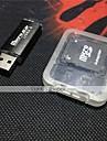 myrer 4gb micro sd kort tf kort hukommelseskort med usb kortlæser og sdhc sd adapter