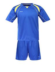 Fußball-Hemden und Shorts